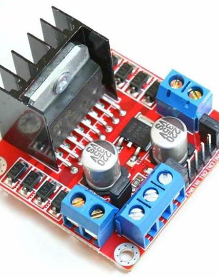 L298N Motor Driver (Red)