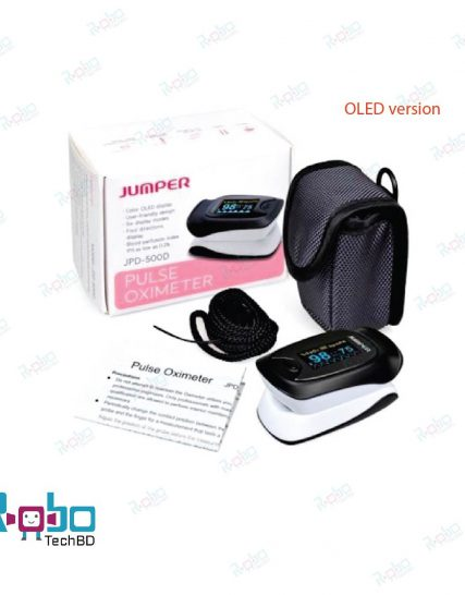 Jumper Pulse Oximeter JPD-500D (OLED version) with one month replacement warranty