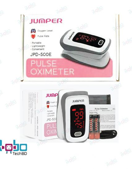 Jumper Pulse Oximeter JPD-500E (with one month replacement warranty)