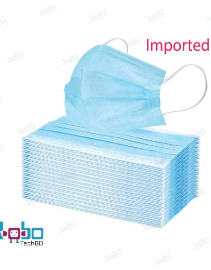 Disposable Surgical Face Masks (50 pc / Box) - Imported